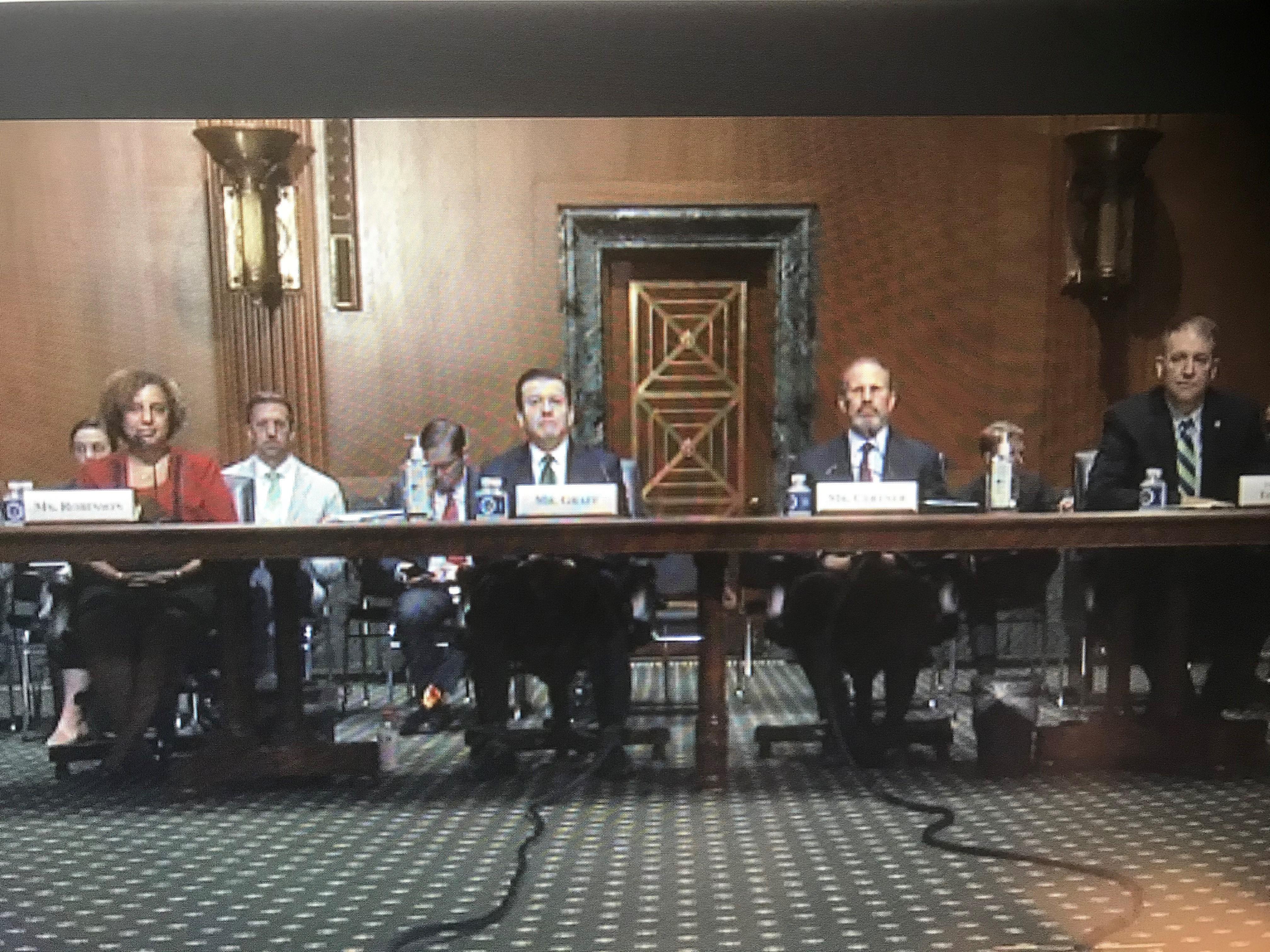 Senate Finance Committee – 401k Hearings
